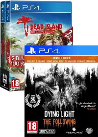 Zombie uncut Triple Pack - Dying Light + Following + Dead Island Definitive uncut Collection (PS4)