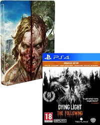 Dying Light [uncut Edition] + Zombie Steelbook - Erstauflage (PS4)