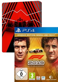 F1 (Formula 1) 2019 Legends Edition inklusive PreOrder Steelbook + Early Access (PS4)