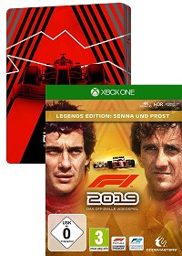 F1 (Formula 1) 2019 Legends Edition inklusive Steelbook (Xbox One)