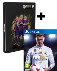FIFA 18 [Limited AT PEGI Steelbook Edition] inkl. 14 Bonus DLCs (PS4)
