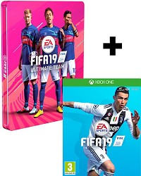FIFA 19 [Limited Steelbook Edition] inkl. Preorder Boni (Xbox One)