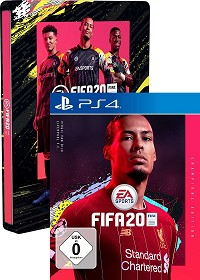 FIFA 20 [Steelbook Champions Edition] inkl. Preorder Boni + Early Access (PS4)