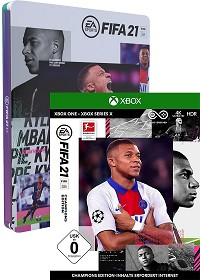 FIFA 21 [Champions Steelbook Edition] (Xbox One)