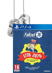 Fallout 76 [Limited Tricentennial uncut Edition] + BETA Vorabzugang + Dog Tag + Trolley Token (PS4)