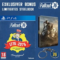 Fallout 76 [Limited Tricentennial uncut Edition] + Trolley Token + Steelbook (PS4)