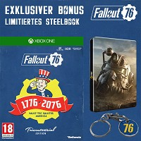Fallout 76 [Limited Tricentennial uncut Edition] + Trolley Token + Steelbook (Xbox One)