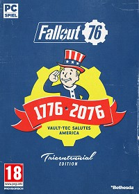 Fallout 76 [Limited Tricentennial uncut Edition] + BETA Vorabzugang + Trolley Token (PC)