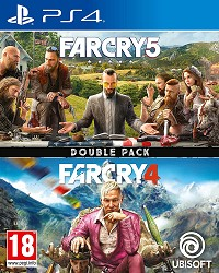 Far Cry 5 + Far Cry 4 [uncut Edition] - Cover beschädigt (PS4)