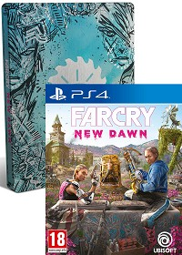 Far Cry New Dawn [Limited Steelbook uncut Edition] (exklusiv) inkl. Bonus (PS4)