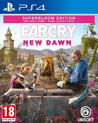 Far Cry New Dawn [Superbloom uncut Edition] inkl. Hurk Legacy Pack - Cover beschädigt (PS4)