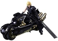 Final Fantasy VII Actionfigur Cloud Strife & Fenrir (28 cm) (Merchandise)
