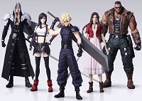 Final Fantasy VII Remake Trading Arts Figuren 5er-Pack (10 cm) (Merchandise)