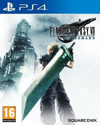 Final Fantasy VII Remake (Final Fantasy 7) - Cover beschädigt (PS4)