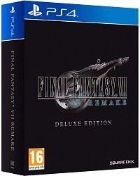 Final Fantasy VII Remake (Final Fantasy 7) [Deluxe EU Bonus Edition] (Import) (PS4)