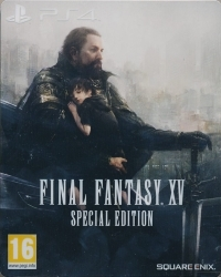 Final Fantasy XV (Final Fantasy 15) [Special Steelbook Edition] (PS4)