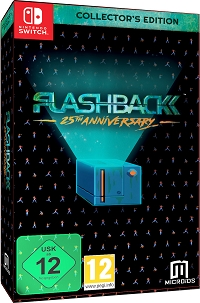 Flashback 25th Anniversary [Collectors Edition] (Nintendo Switch)