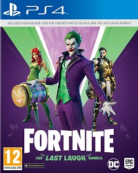 Fortnite [The Last Laugh Bundle] EU (Code in a Box) - Cover beschädigt (PS4)