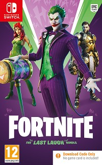 Fortnite [The Last Laugh Bundle ] (Code in a Box) (Nintendo Switch)