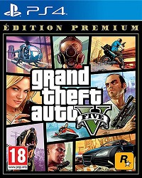GTA 5 - Grand Theft Auto V [Premium uncut Edition] (PS4)