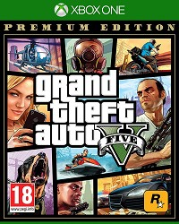 GTA 5 - Grand Theft Auto V [Premium uncut Edition] (Xbox One)