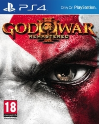 God Of War 3 [Remastered PEGI Edition] - Cover beschädigt (PS4)