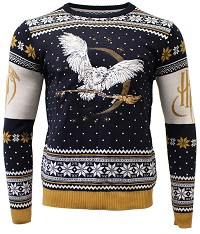 Harry Potter Hedwig Xmas Pullover (XL) (Merchandise)