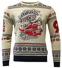 Harry Potter Hogwarts Express Xmas Pullover (L) (Merchandise)