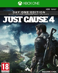 Just Cause 4 [Day One Bonus uncut Edition] - Cover beschädigt (Xbox One)
