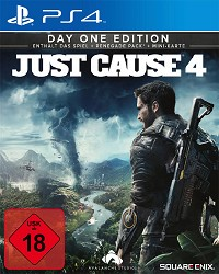 Just Cause 4 [Day One USK Edition] - Cover beschädigt (PS4)