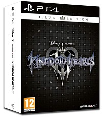 Kingdom Hearts 3 [Deluxe Steelbook Edition] (PS4)