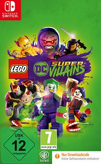 LEGO DC Super-Villains (Code in a Box) (Nintendo Switch)