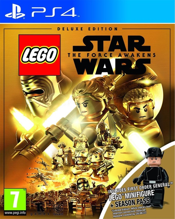 PS4 - LEGO Star Wars The Force Awakens [Deluxe Edition ...