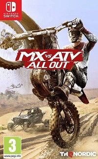 MX vs ATV All Out - Cover beschädigt (Nintendo Switch)