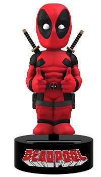 Marvel Comics Body Knocker Wackelkopf-Figur Deadpool  (15 cm) (Merchandise)