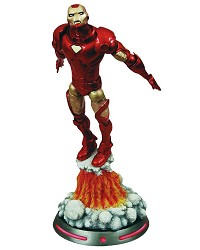 Marvel Select Iron Man Actionfigur (18 cm) (Merchandise)
