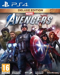Marvels Avengers [Deluxe Edition] inkl. BETA Zugang + Aufnäher Set (PS4)