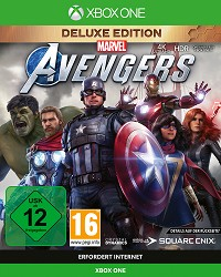 Marvels Avengers [Deluxe Edition] inkl. BETA Zugang + Aufnäher Set (Xbox One)