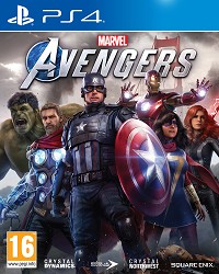 Marvels Avengers [Bonus AT Edition] + Aufnäher Set (PS4)
