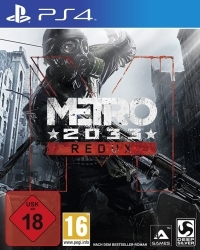 Metro: 2033 Redux [uncut Edition] (PS4)