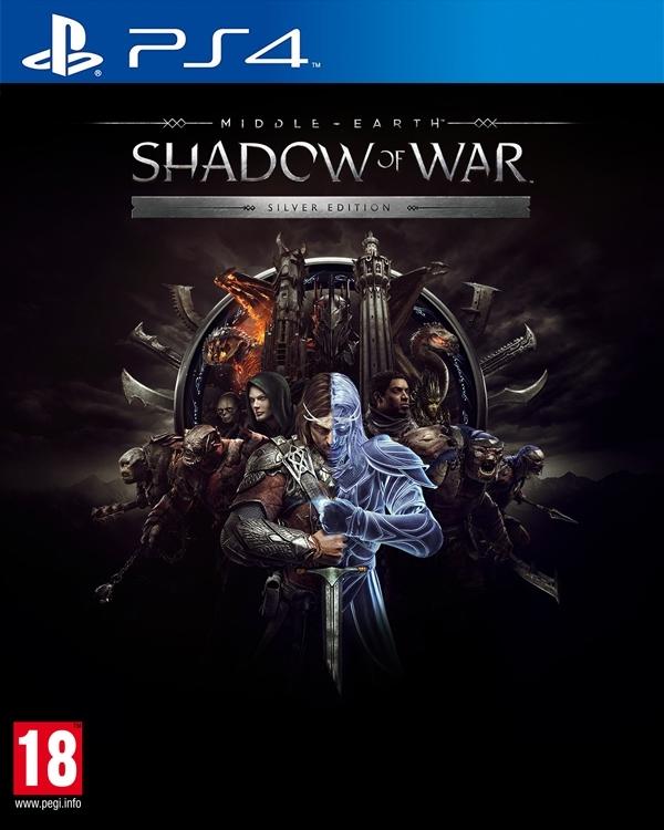 PS4 - Mittelerde: Schatten des Krieges [Silver uncut ...