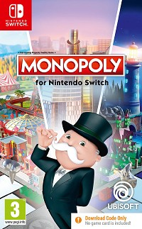 Monopoly (Code in a Box) (Nintendo Switch)