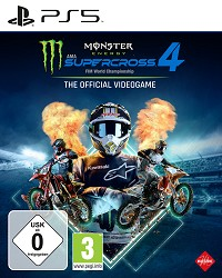 Monster Energy Supercross - The Official Videogame 4 [Bonus Edition] (PS5™)