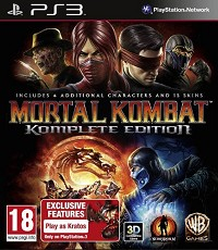 Mortal Kombat 9 Komplete [Kratos Bonus uncut Edition] (PS3)