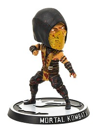 Mortal Kombat Wackelkopf-Figur Scorpion Bloody Version (15 cm) (Merchandise)
