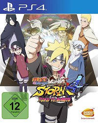 Naruto Shippuden Ultimate Ninja Storm 4: Road to Boruto - Cover beschädigt (PS4)