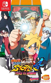 Naruto Shippuden Ultimate Ninja Storm 4: Road to Boruto (Nintendo Switch)