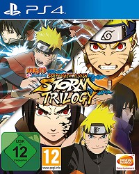 Naruto Shippuden: Ultimate Ninja Storm Trilogy [USK] - Cover beschädigt (PS4)
