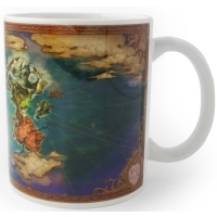 Ni No Kuni II World Map Tasse