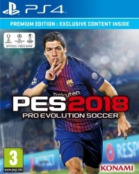 PES 2018: Pro Evolution Soccer [Premium Edition] (PS4)